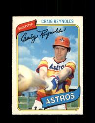 1980 CRAIG REYNOLDS OPC #71 O-PEE-CHEE ASTROS *G4794