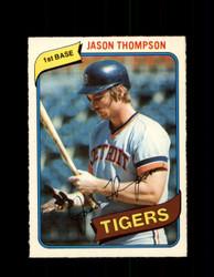 1980 JASON THOMPSON OPC #83 O-PEE-CHEE TIGERS *G4799