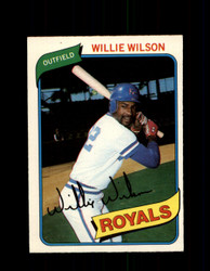 1980 WILLIE WILSON OPC #87 O-PEE-CHEE ROYALS *G4800