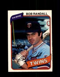 1980 BOB RANDALL OPC #90 O-PEE-CHEE TWINS *G4801