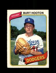 1980 BURT HOOTON OPC #96 O-PEE-CHEE DODGERS *G4805