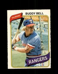 1980 BUDDY BELL OPC #107 O-PEE-CHEE RANGERS *G4816