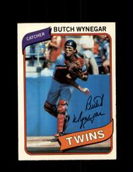 1980 BUTCH WYNEGAR OPC #159 O-PEE-CHEE TWINS *G4842