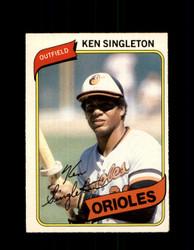 1980 KEN SINGLETON OPC #178 O-PEE-CHEE ORIOLES *G4854