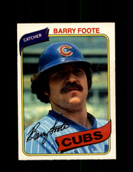 1980 BARRY FOOTE OPC #208 O-PEE-CHEE CUBS *G4871