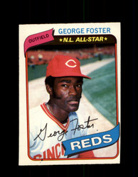 1980 GEORGE FOSTER OPC #209 O-PEE-CHEE REDS *G4872