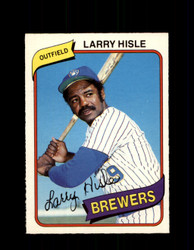 1980 LARRY HISLE OPC #222 O-PEE-CHEE BREWERS *G4880