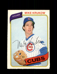 1980 MIKE KRUKOW OPC #223 O-PEE-CHEE CUBS *G4881
