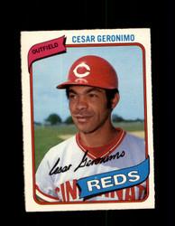1980 CESAR GERONIMO OPC #247 O-PEE-CHEE REDS *G4896
