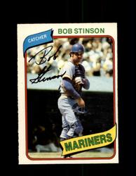 1980 BOB STINSON OPC #305 O-PEE-CHEE MARINERS *G4921