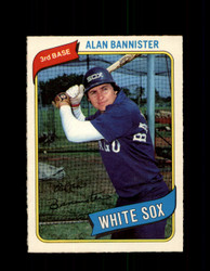 1980 ALAN BANNISTER OPC #317 O-PEE-CHEE WHITE SOX *G4928