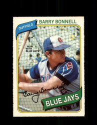 1980 BARRY BONNELL OPC #331 O-PEE-CHEE BLUE JAYS *G4938