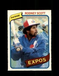 1980 RODNEY SCOTT OPC #360 O-PEE-CHEE EXPOS *G4950