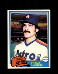 1981 FRANK LACORTE OPC #348 O-PEE-CHEE ASTROS *G4954