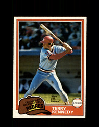 1981 TERRY KENNEDY OPC #353 O-PEE-CHEE PADRES *G4526