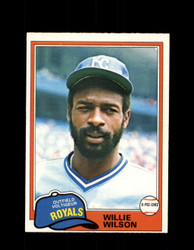 1981 WILLIE WILSON OPC #360 O-PEE-CHEE ROYALS *G4956