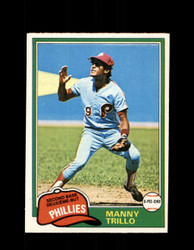 1981 MANNY TRILLO OPC #368 O-PEE-CHEE PHILLIES *G4959