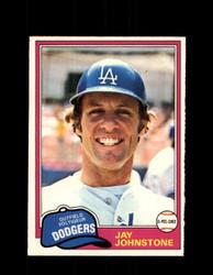 1981 JAY JOHNSTONE OPC #372 O-PEE-CHEE DODGERS *G4960