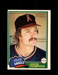1981 JASON THOMPSON OPC #373 O-PEE-CHEE ANGELS *G4961