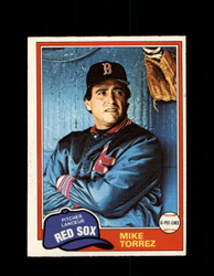1981 MIKE TORREZ OPC #216 O-PEE-CHEE RED SOX *G4970