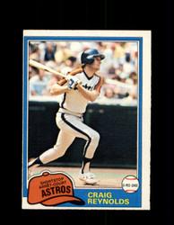 1981 CRAIG REYNOLDS OPC #12 O-PEE-CHEE ASTROS *G4972