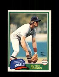 1981 BUTCH HOBSON OPC #7 O-PEE-CHEE ANGELS *G4975