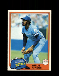 1981 WILLIE AIKENS OPC #223 O-PEE-CHEE ROYALS *G4977
