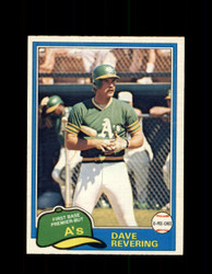 1981 DAVE REVERING OPC #57 O-PEE-CHEE ATHLETICS *G4982