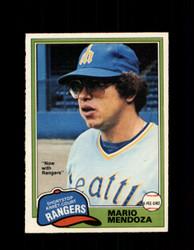 1981 MARIO MENDOZA OPC #76 O-PEE-CHEE RANGERS *G4985