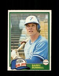 1981 BARRY BONNELL OPC #82 O-PEE-CHEE BLUE JAYS *G4987