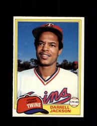 1981 DARRELL JACKSON OPC #89 O-PEE-CHEE TWINS *G4990