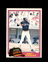 1981 LARRY HERNDON OPC #108 O-PEE-CHEE GIANTS *G4993