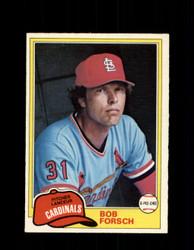 1981 BOB FORSCH OPC #140 O-PEE-CHEE CARDINALS *G4999