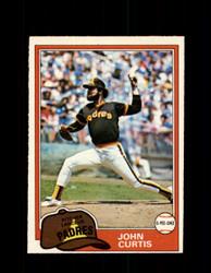1981 JOHN CURTIS OPC #158 O-PEE-CHEE PADRES *G5006