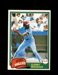 1981 GARRY MADDOX OPC #160 O-PEE-CHEE PHILLIES *G5007
