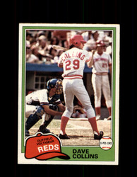 1981 DAVE COLLINS OPC #175 O-PEE-CHEE REDS *G5009