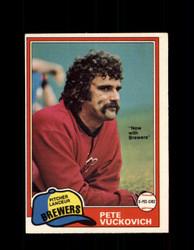 1981 PETE VUCKOVICH OPC #193 O-PEE-CHEE BREWERS *G5020
