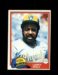 1981 LARRY HISLE OPC #215 O-PEE-CHEE BREWERS *G5028