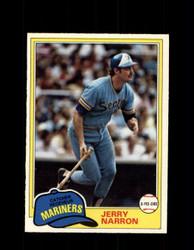 1981 JERRY NARRON OPC #249 O-PEE-CHEE MARINERS *G5038