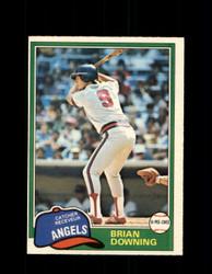 1981 BRIAN DOWNING OPC #263 O-PEE-CHEE ANGELS *G5044
