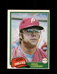 1981 GREG LUZINSKI OPC #270 O-PEE-CHEE PHILLIES *G5047