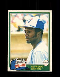 1981 ALFREDO GRIFFIN OPC #277 O-PEE-CHEE BLUE JAYS *G5051