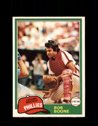 1981 BOB BOONE OPC #290 O-PEE-CHEE PHILLIES *G5057