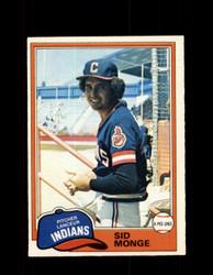 1981 SID MONGE OPC #333 O-PEE-CHEE INDIANS *G5080