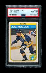 1982 JOE MULLEN OPC #307 O-PEE-CHEE ROOKIE BLUES PSA 8