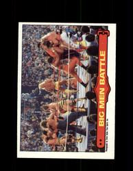 1985 BIG JOHN STUDD #68 WWF O-PEE-CHEE BIG MEN BATTLE *G3982