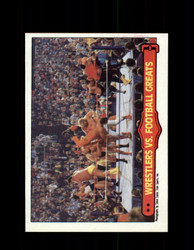 1985 ANDRE THE GIANT #67 WWF O-PEE-CHEE WRESTLERS VS FOOTBALL GREATS *9960