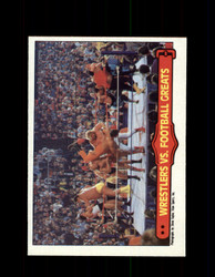 1985 ANDRE THE GIANT #67 WWF O-PEE-CHEE WRESTLERS VS FOOTBALL GREATS *9973