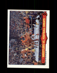 1985 ANDRE THE GIANT #67 WWF O-PEE-CHEE WRESTLERS VS FOOTBALL GREATS *R5340