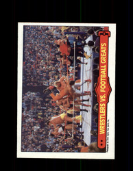 1985 ANDRE THE GIANT #67 WWF O-PEE-CHEE WRESTLERS VS FOOTBALL GREATS *G6374